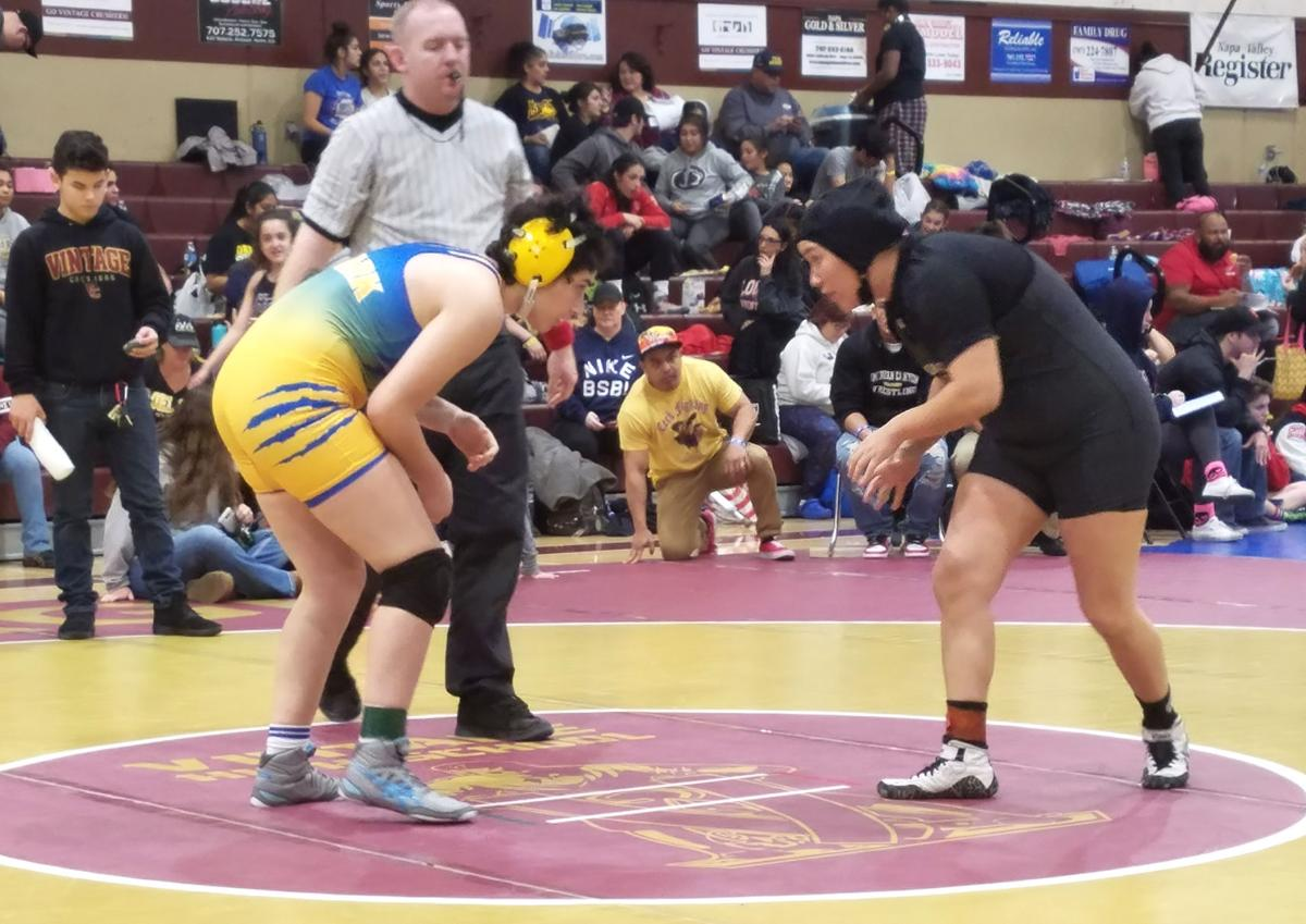 American Canyon girls wrestling