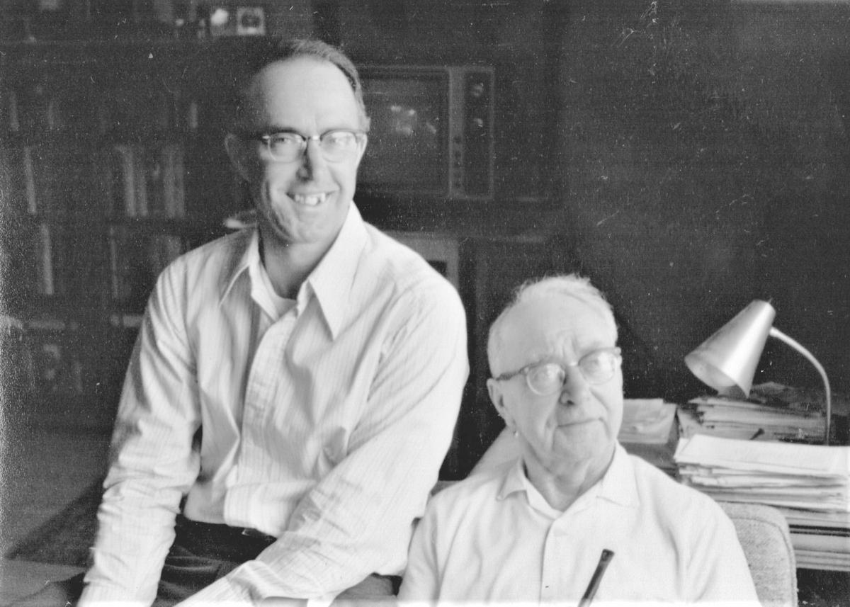 Ralph and George Deuer in 1978