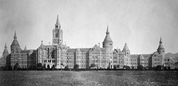 Napa State Hospital: the Castle