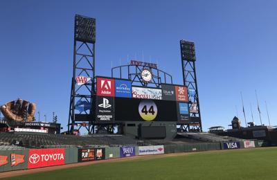 Giants McCovey Baseball