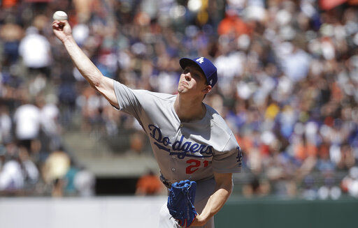 Buehler, Muncy lead Dodgers to 1-0 shutout of Giants