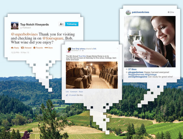 Social media in the Napa Valley