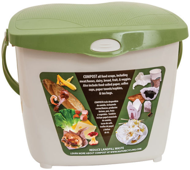 Napa Recycling Food S Composting Kitchen Bin