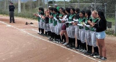 Calistoga High softball