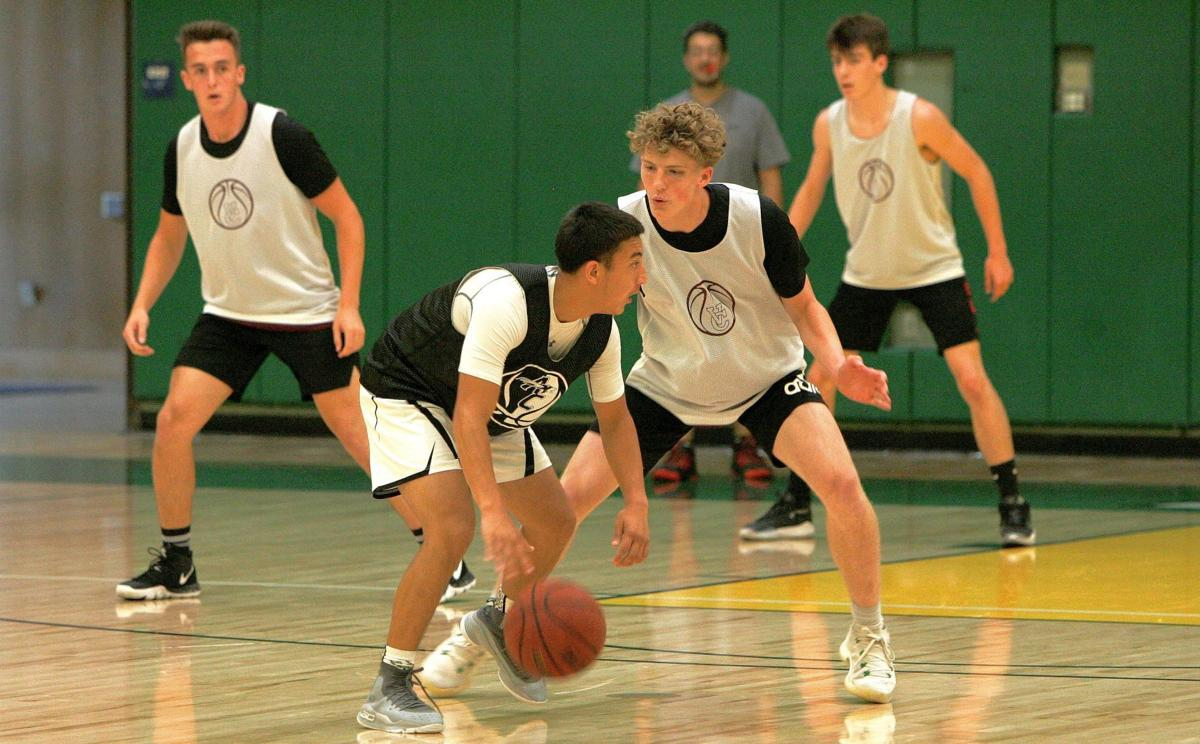 Vintage High vs. American Canyon boys basketball in NVC Summer League