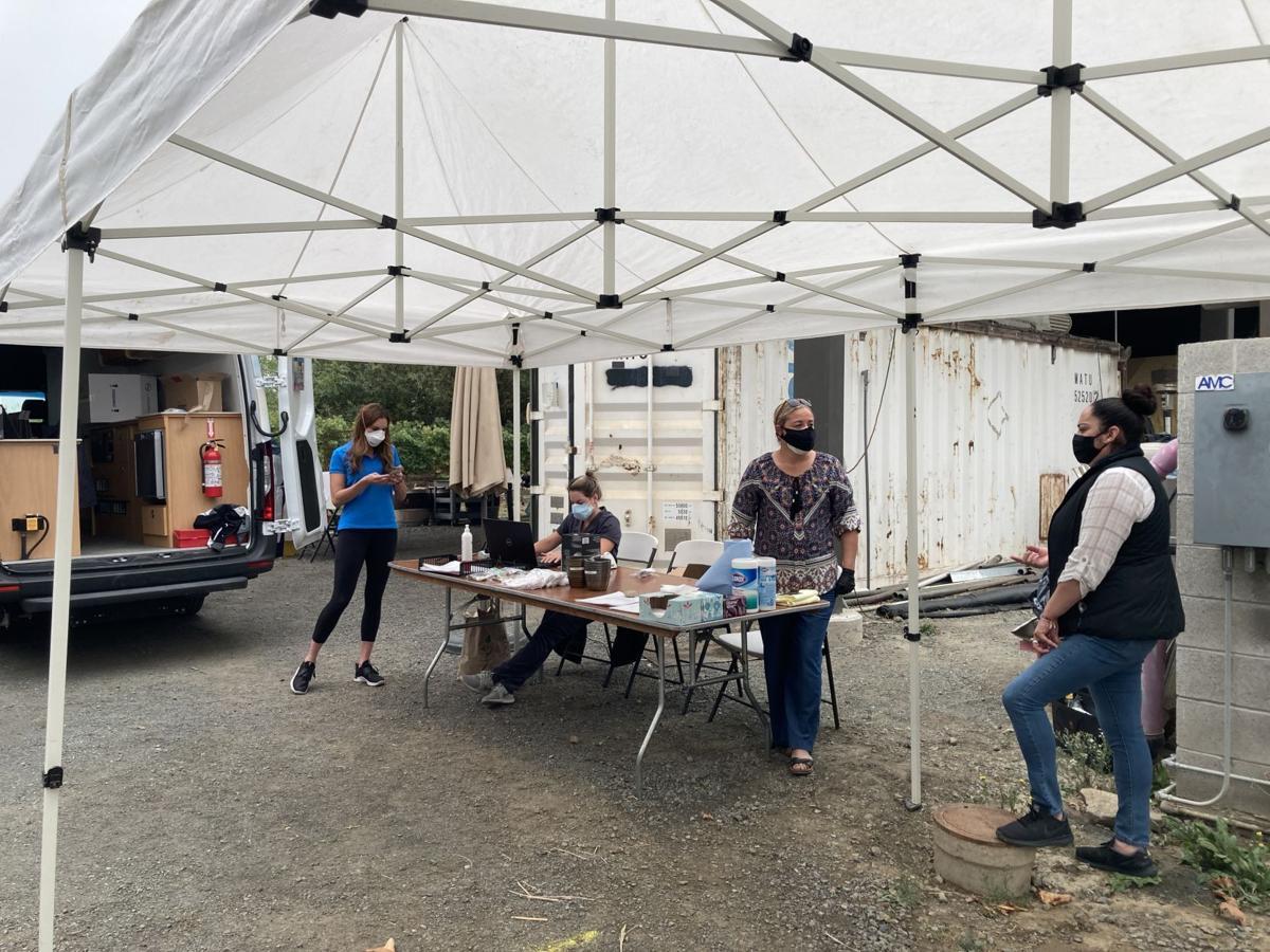 St. Helena Hospital mobile testing