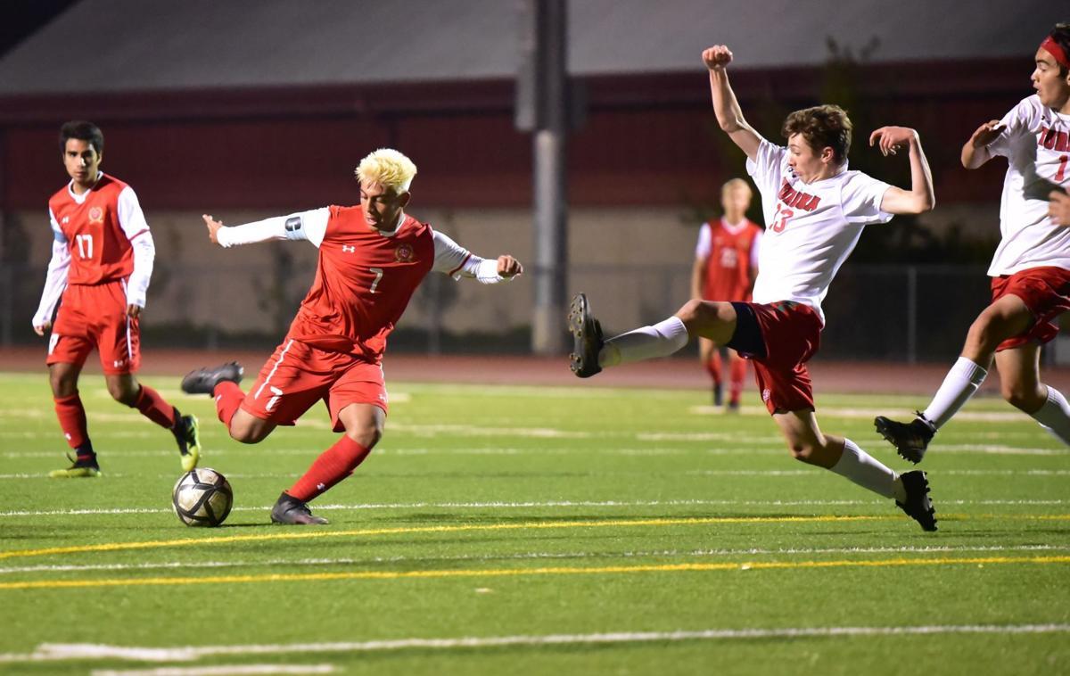 St. Helena vs. Eureka boys soccer playoffs