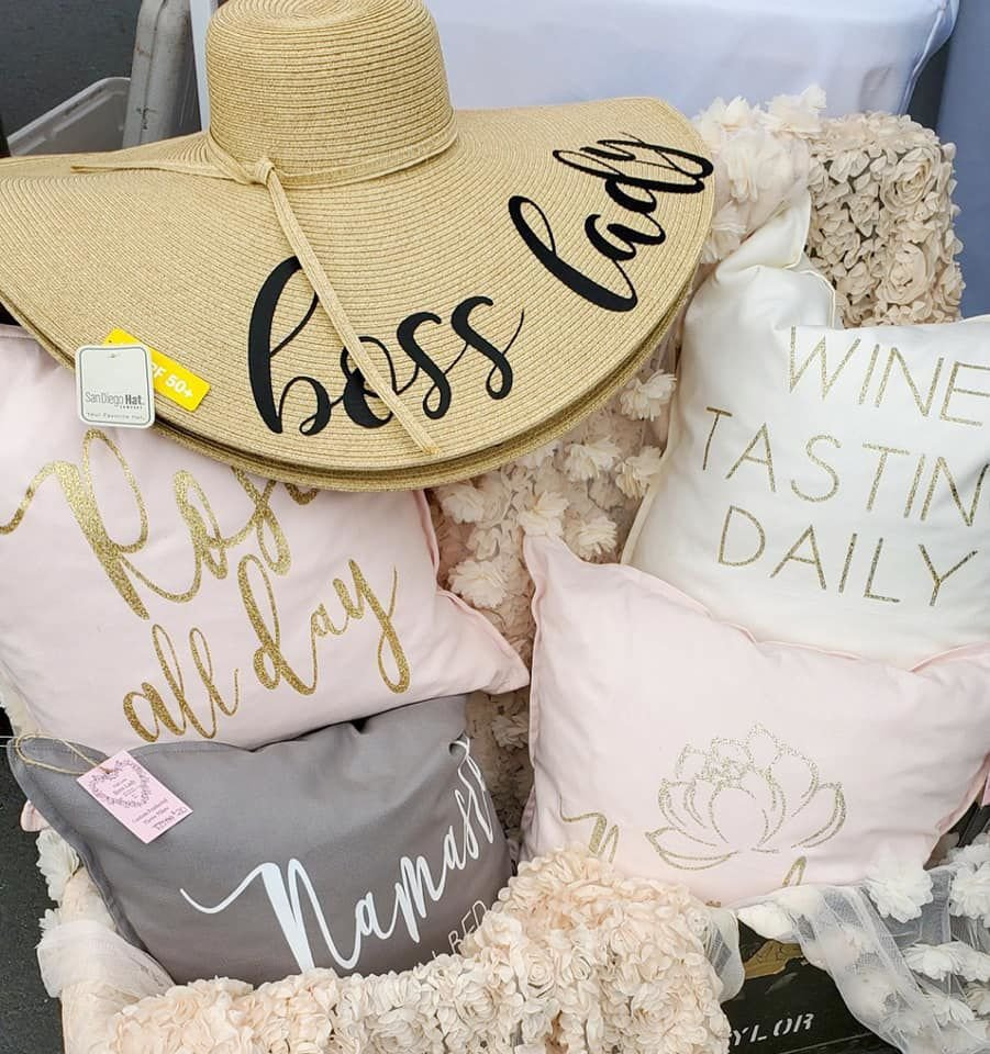 Products from With Love, Boss Lady.