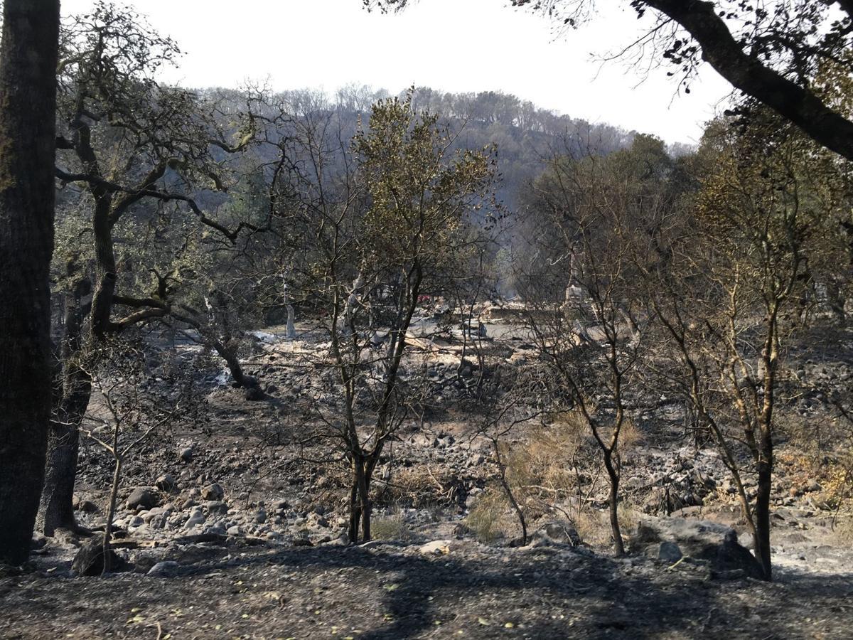 Walker house after 2017 fire