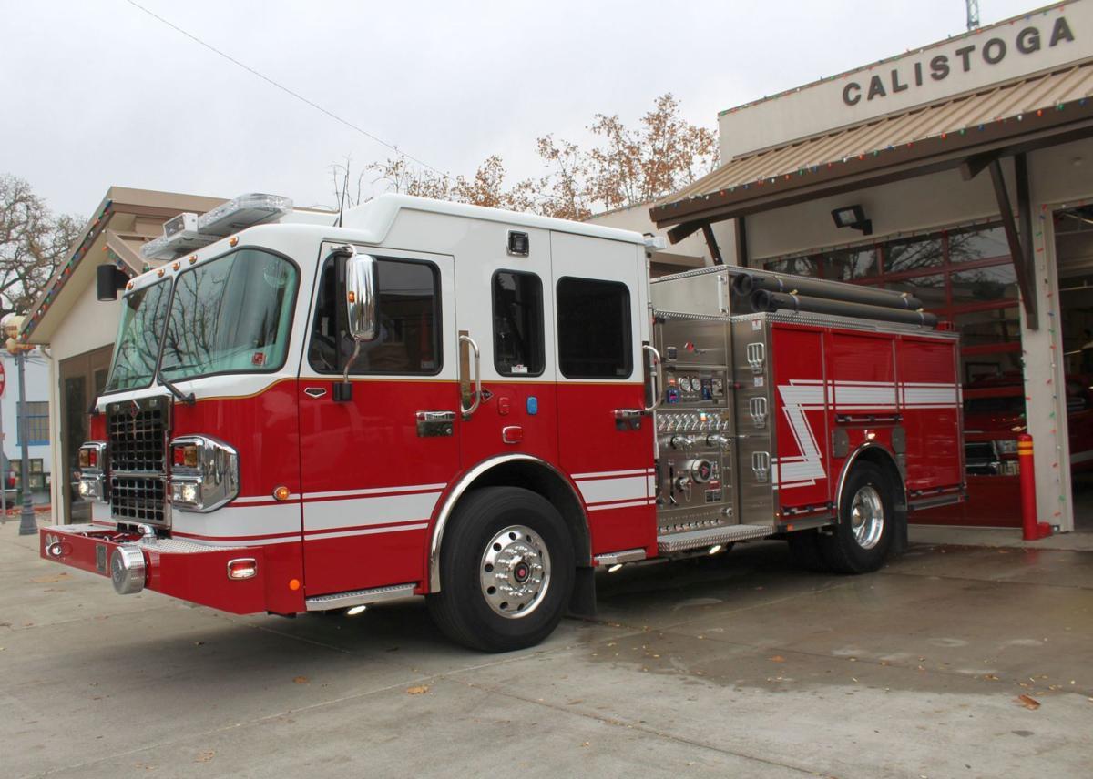 Calistoga fire truck