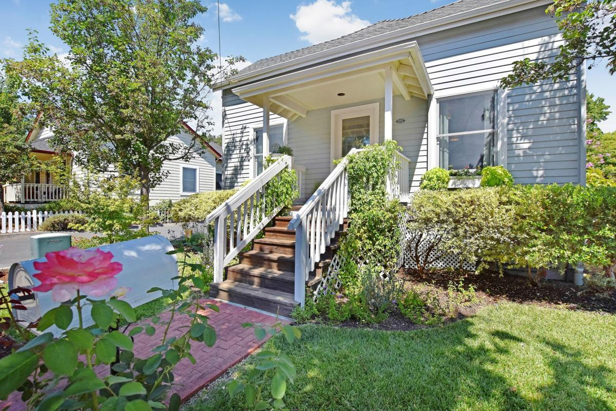 This Napa home is currently listed at $599,000. Featuring two bedrooms and one bath, it is located at 1152 Eggleston St.