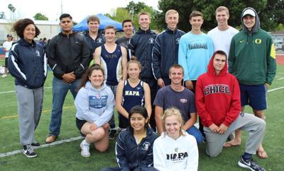 Napa High track seniors