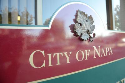 City of Napa logo sign