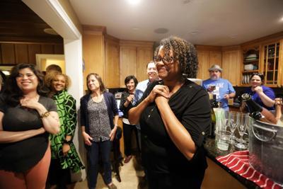 Judge Monique Langhorne wins election