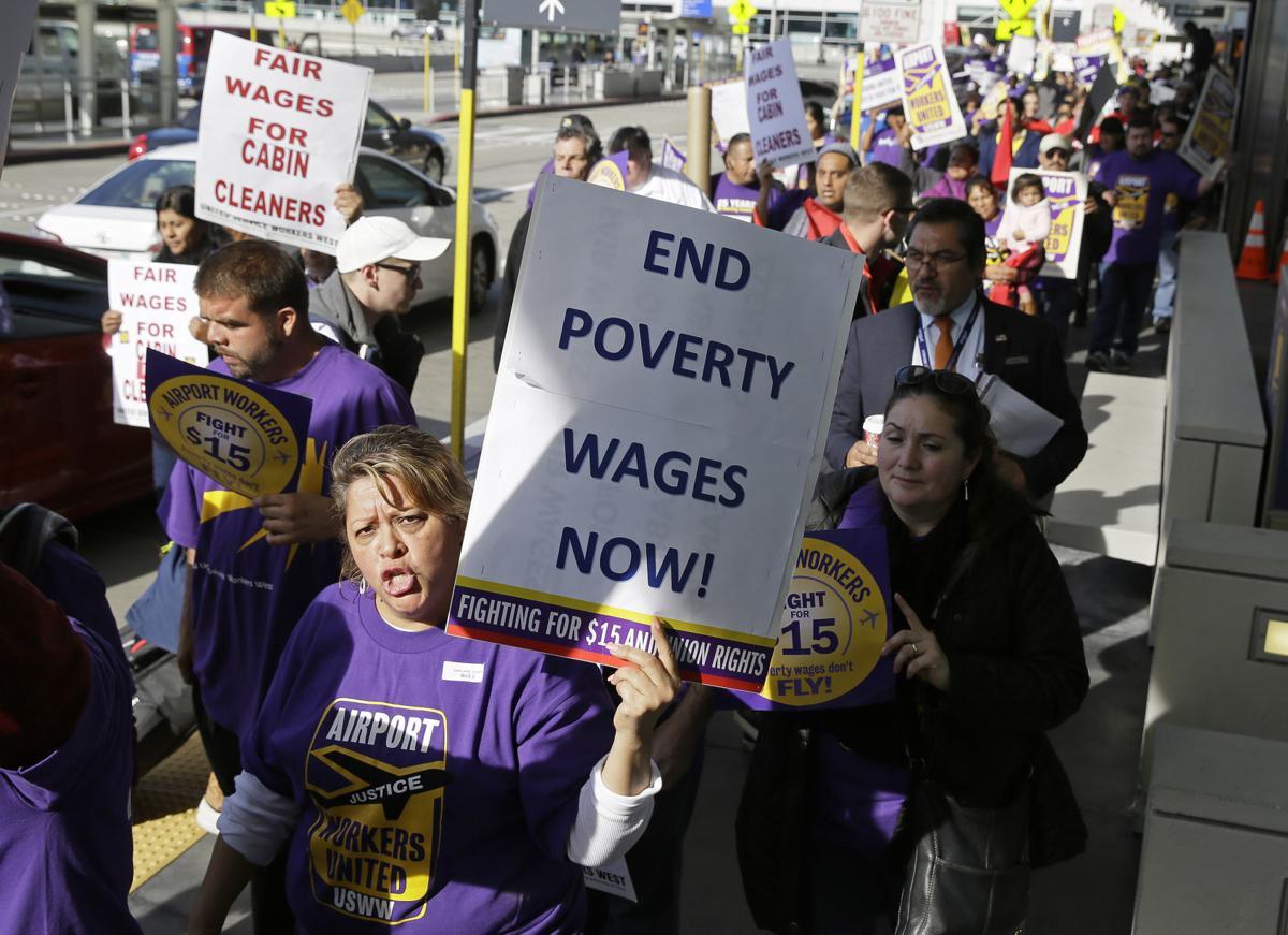 Minimum Wage Protests California