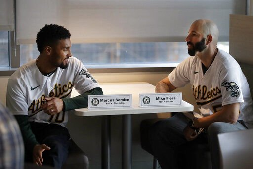 Mike Fiers took his workouts to another level, cleared mind