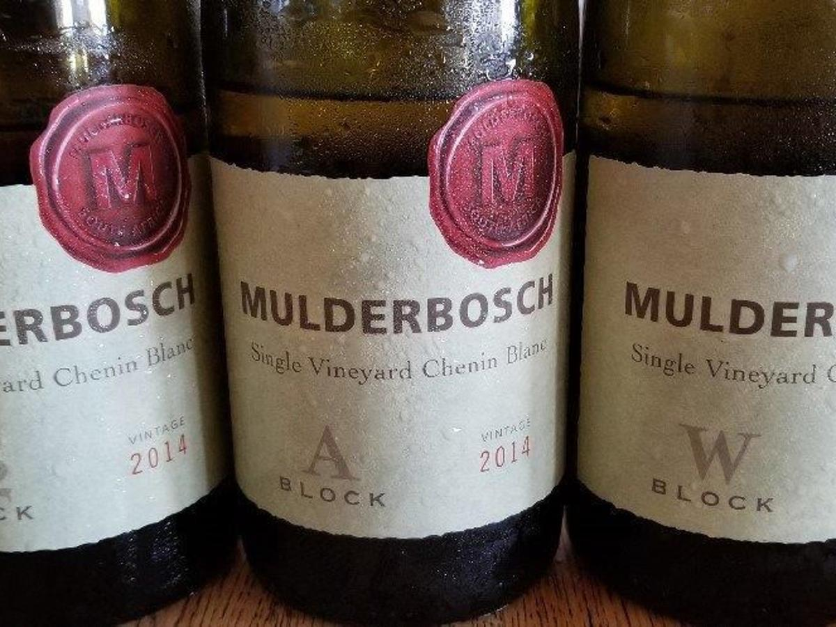 mulderbosch single vineyard chenin blanc block s2