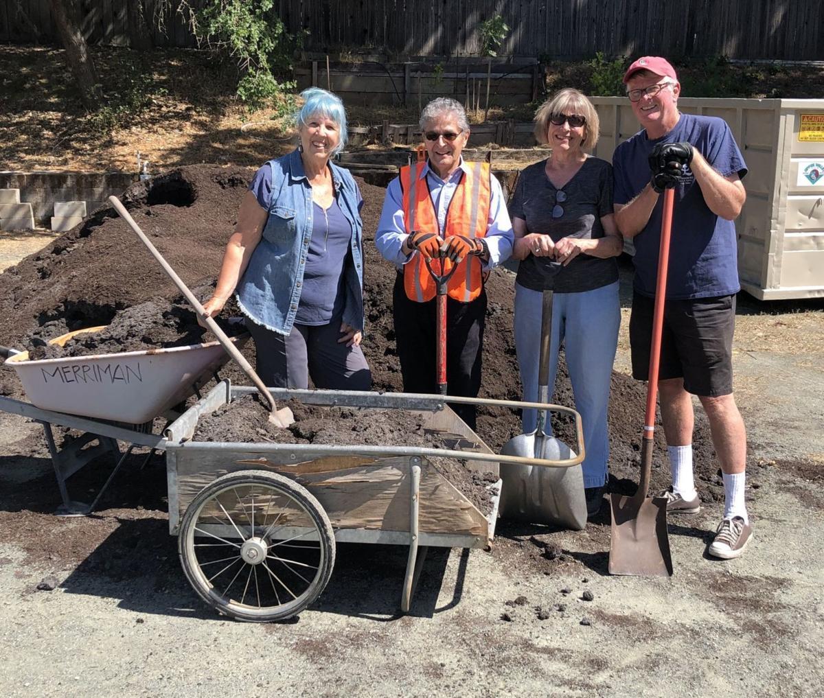 Upper Valley Disposal Service donates mulch to Vineyard Valley in St. Helena