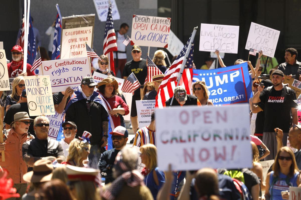 US-NEWS-CORONAVIRUS-CALIF-CAPITOL-MASKS-LA