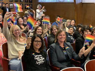 Napa approves display of LGBTQ rainbow flag outside City Hall (copy)