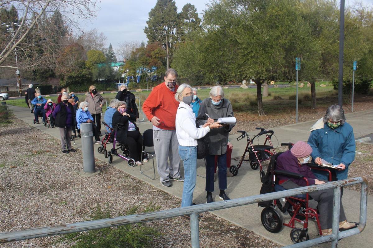 In line for COVID-19 vaccine