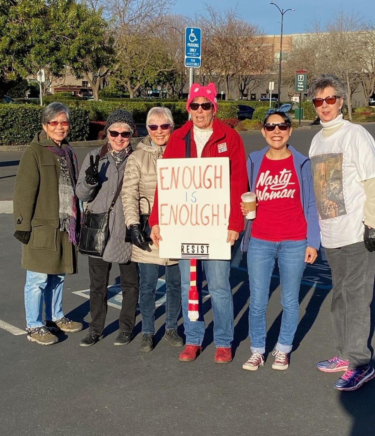 Upvalley Women's Marchers