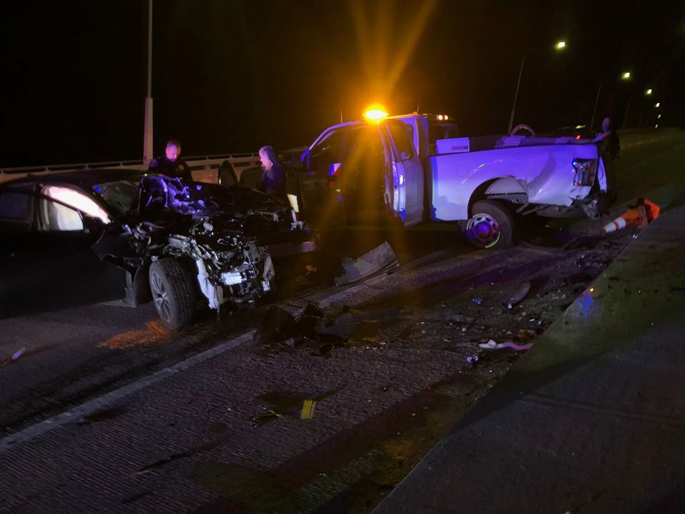 DUI crash Napa Police