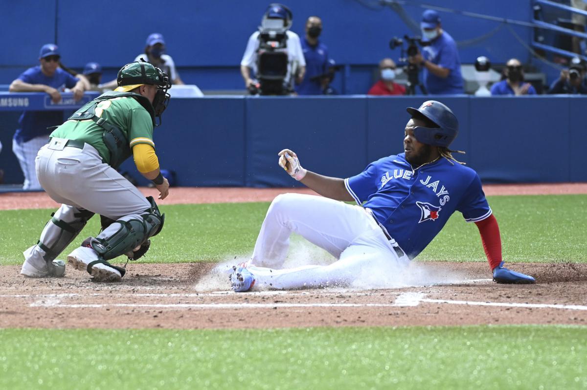 Athletics Blue Jays Baseball