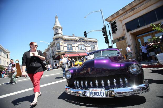 Photos Main Street Reunion Car Show Napavalleyregistercom - Main street car show