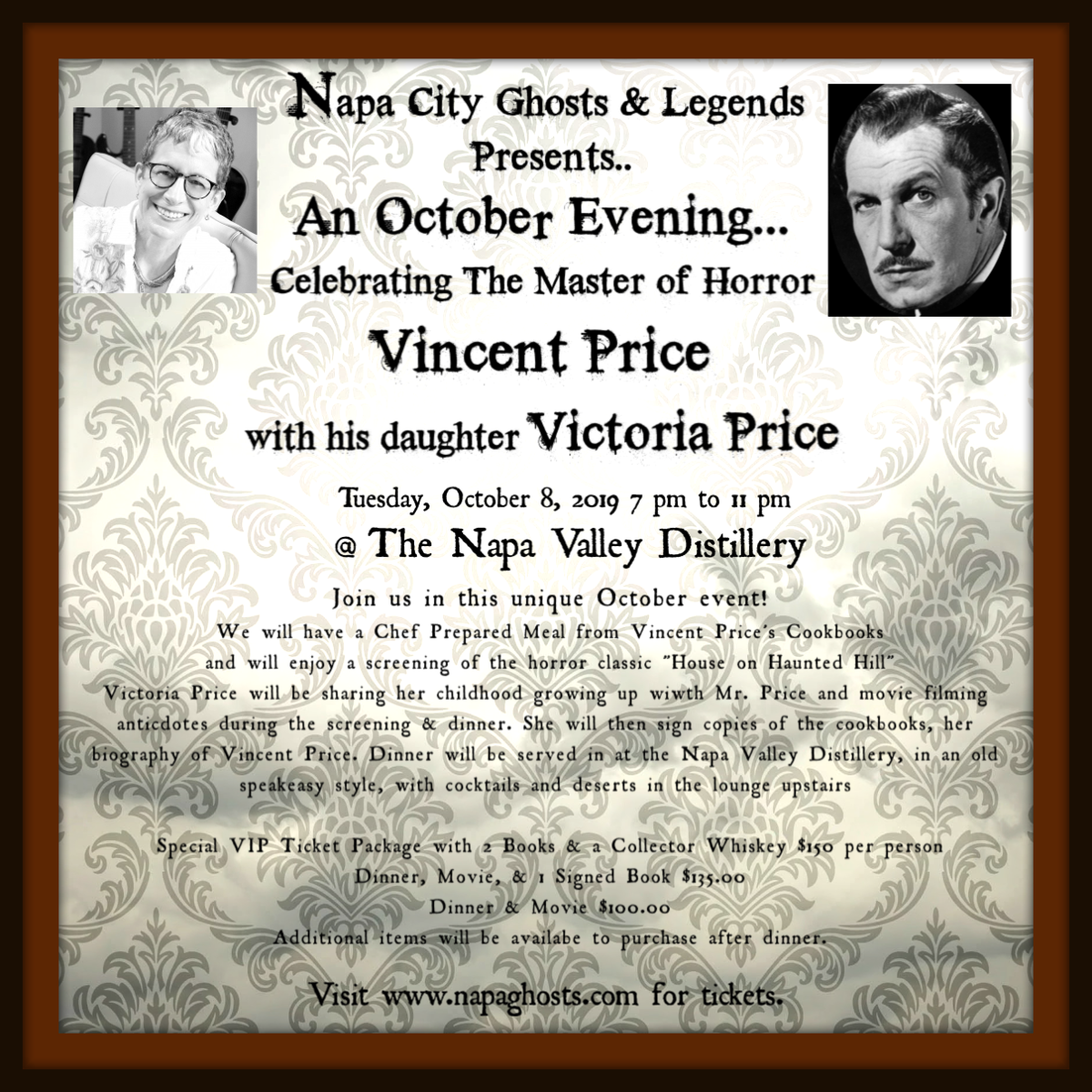 An October Evening With Victoria Price