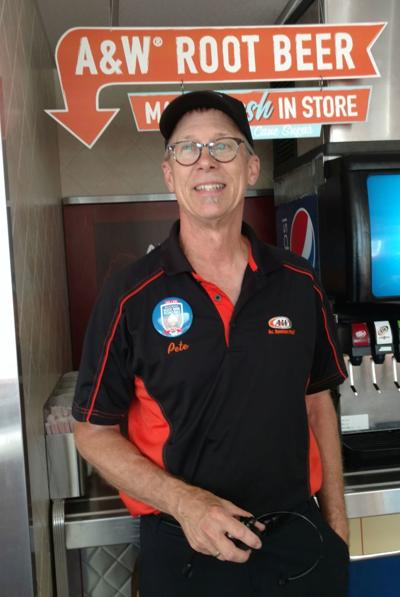 Pete Knight of St. Helena's A&W Restaurant