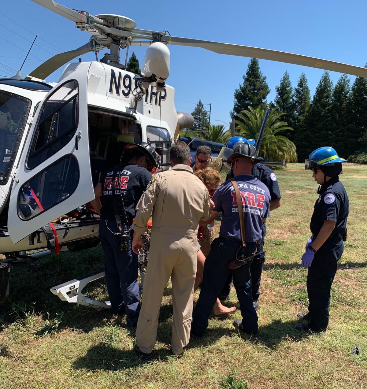 Napa Fire rescue 8/2