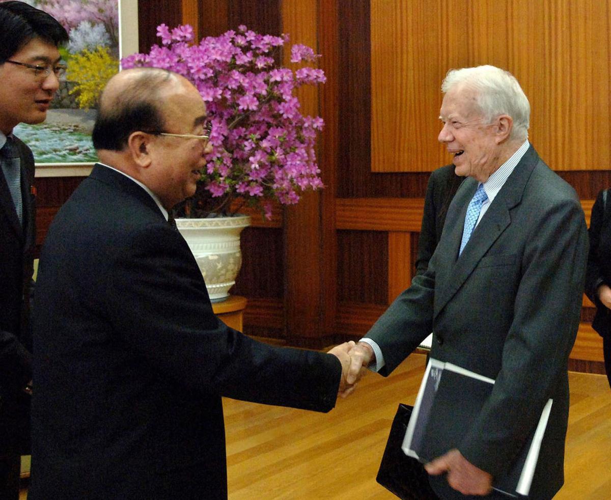 Jimmy Carter  Pak Ui Chun