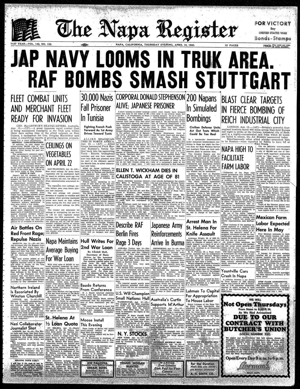 April 15, 1943