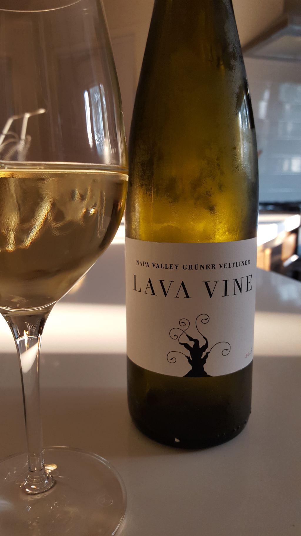 Lava Vine 2015 Gruner Veltliner
