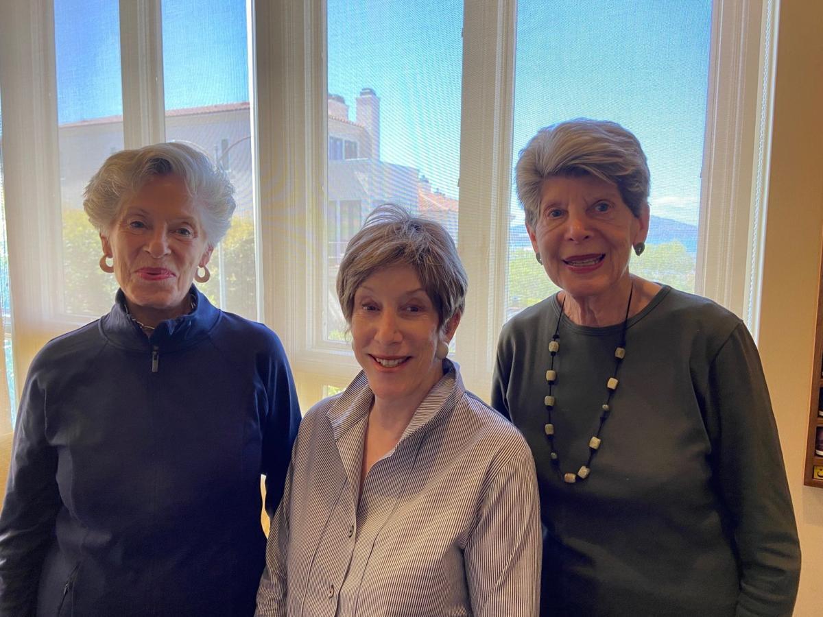 Connie Shapiro, Diane Frankel and Judy Weil.