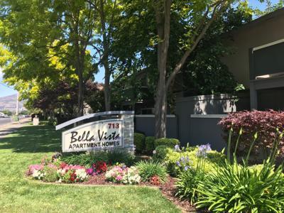Napa's Bella Vista apartment complex has been sold for an estimated $21.1 million.