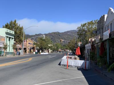 Calistoga evacuation lifted