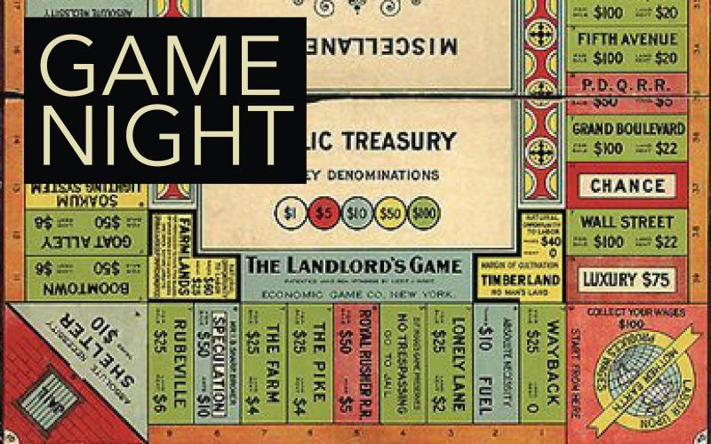 Game Night at Bookmine