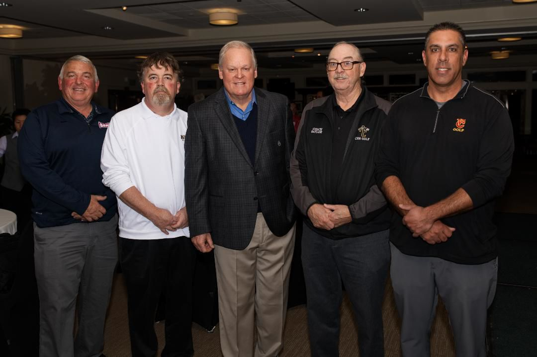 Johnny Miller and local high school golf coaches