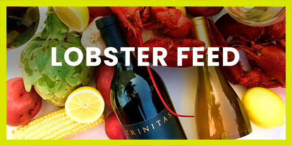 Lobster Feed with Trinitas Cellars at The Village