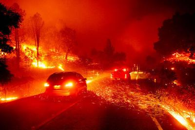 Flames, gear and risks of photographing California wildfires