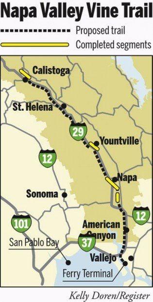 The Napa Valley Vine Trail