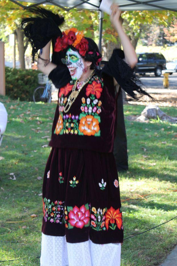 Frida Kahlo visits Dia de los Muertos at Up Valley Campus