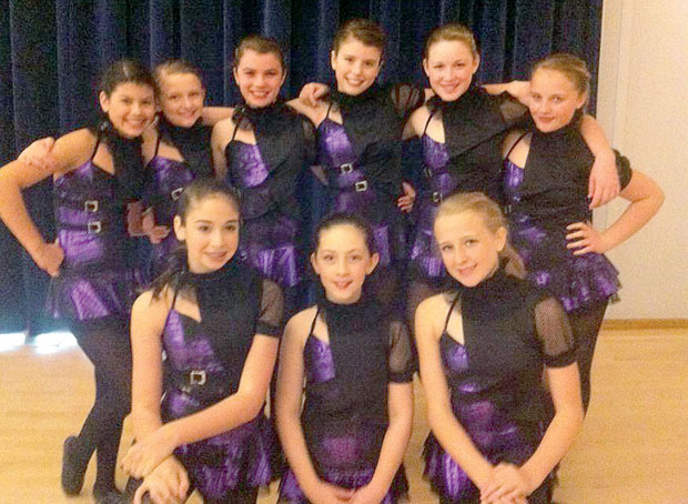 Competitive Dance Expressions Teams Earn Three First Place Trophies