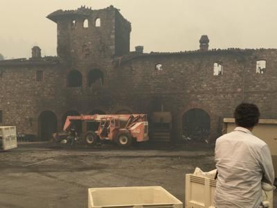 A drive through the Napa Valley shows impacts of Glass Fire