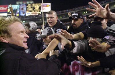 Raiders Oakland Farewell Football