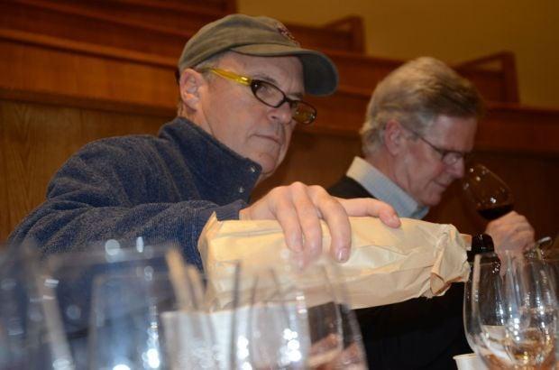 Napa Valley Vintners/St. Helena Star tasting panel