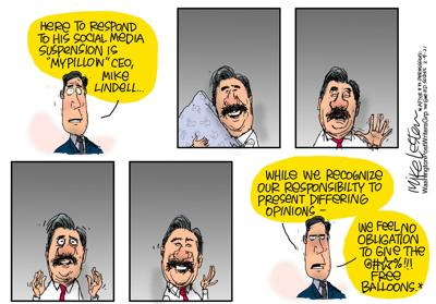 Mike Lester editorial cartoon