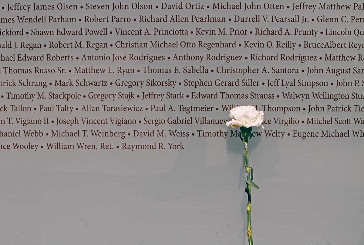Napa 9/11 memorial in 2016